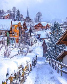 Wengen Switzerland, Switzerland Travel Guide, Switzerland Vacation, Europe Destinations, Alpine Village, Winter House, Best Cities, Winter Holidays, Travel Inspiration