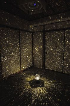 This star projector project a map of the heavens onto your ceiling and walls with thousands of stars in random order.