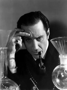 Basil Rathbone is one of the actors I haven't seen as Holmes yet, but I definitely plan to watch him in action soon!