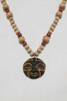 African Pendant by 1View on Etsy