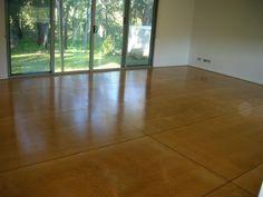 plywood floor | Polished plywood floor installation, Yallingup