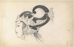 """John Singer Sargent (American, 1856-1925). Javanese Dancers Sketchbook, 1889. The Metropolitan Museum of Art, New York. Gift of Mrs. Francis Ormond, 1950. (50.130.149) 