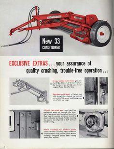 IH No.33 Hay Conditioner Ad