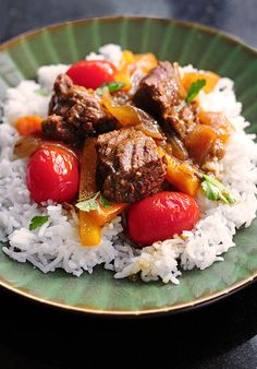 Coconut Curry Beef from @Amy Johnson / She Wears Many Hats