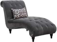 Emerald Home Furnishings Hutton II Chaise Lounge