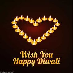 wish you happy diwali with heart diyas for love ones Happy Diwali Pictures, Diwali Photos, Diwali Greeting Cards, Diwali Greetings, Heart Images Hd, Image For My Love, Best Diwali Wishes, Diwali Message, Diwali Lights