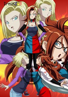 n 21 dragon ball Dragon Ball Gt, Dragon Ball Image, Fan Art, Anime Zone, Manga Dragon, Android 18, Akira, Anime Characters, Character Art