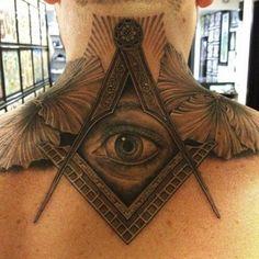 Eye see you! #InkedMagazine #tattoos #tattoo #allseeingeye #eye #inked #ink #art