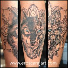 Wolf Tattoo  #Brisbane #Tattoo #Artist #Tattooist #TattooStudio