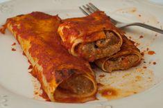 Cannelloni napoletani Tortellini, Pasta Primavera, Calamari, Biscotti, Food To Make, Sushi, Pork, Menu, Chicken