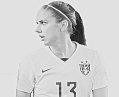 """Alex Morgan"" Alexandra Patricia Morgan  is an American soccer player and Olympic gold medalist. She is a forward for the Portland Thorns FC of the National Women's Soccer League and for the United States women's national soccer team."