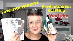 MY FAVOURITE SKIN CARE PRODUCTS SINCE STARTING YouTube 2018 OVER 50++ Timeless Beauty, True Beauty, Youtube S, Beauty Studio, Glycolic Acid, Looking For Women, Anti Aging, Facial, Skin Care