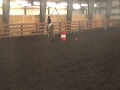 Counter Arcing around the barrel for that horse that drops. BUT do this in circles without a barrel. Do a counter arch (nose outside the circle) and a regular arch with is nose inside the circle.