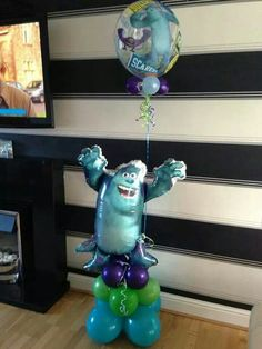 #monsters inc  #theme #balloons #bellissimoballoons