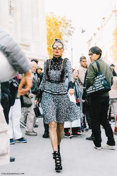 Giovanna Battaglia, Paris Fashion Week SS17