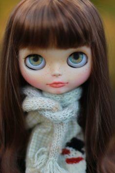 Custom Blythe doll Deborah OOAK por BigEyesBlythe en Etsy