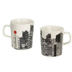 marimekko mugs. love the tiny orange sun. marimekko mugs. love the tiny orange sun. Marimekko, Tiny Oranges, Scandinavia Design, Kartell, Vintage Disney, Mugs Set, Good Company, Mug Cup, Crate And Barrel