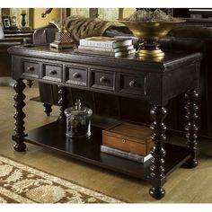 Tommy Bahama Home Kingstown Explorer Console Table