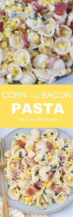 Food Dishes, Main Dishes, Side Dishes, Cream Cheese Spaghetti, Kitchen Recipes, Cooking Recipes, Bacon Pasta Recipes, Bacon Day, Creamy Pasta Dishes