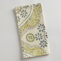 Mosaic Tile Napkins, Set of 4...so going to make pic frames from these...like the brilliant gal from the small things blog did!!