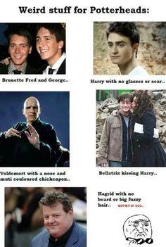 Weird stuff for Potterheads