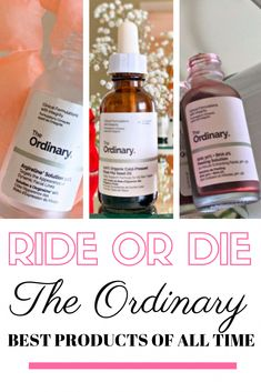 The Ordinary products I can't live with out! Plus how to use The Ordinary skincare #BeautyTipsInHindi Beauty Secrets, Beauty Hacks, Diy Beauty, Beauty Products, Homemade Beauty, Beauty Ideas, Face Care Products, Best Skincare Products, Beauty Guide