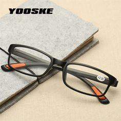 aa7a6b07bf YOOSKE Women Men Reading Glasses Toughness TR90 ultra light Resin Material  For Female Male Reading Presbyopic Glasses-in Reading Glasses from Men s  Clothing ...