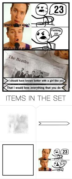 """""""The Beatles~I should have known better - Blink 182~What's my age again"""" by heartandsoul ❤ liked on Polyvore featuring art, music, Beatles, bands, expression and blink182"""