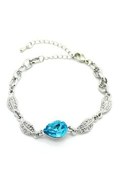 Blue Crystal Bracelet by Eye Candy Los Angeles on @HauteLook
