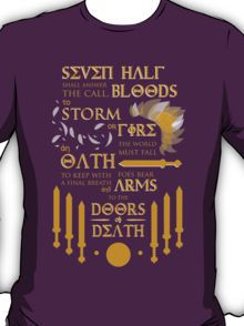 The Prophecy of Seven T-Shirt