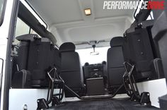 custom defender 90 seats new | 2012 Land Rover Defender 90 rear view folded seats
