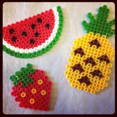 Fruits hama beads by jennymoo68