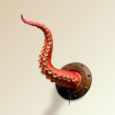 Steampunk Furniture | Dream Home Decor, Housewares & Furniture / Steampunk Wall Tentacle This is beyond awesome.