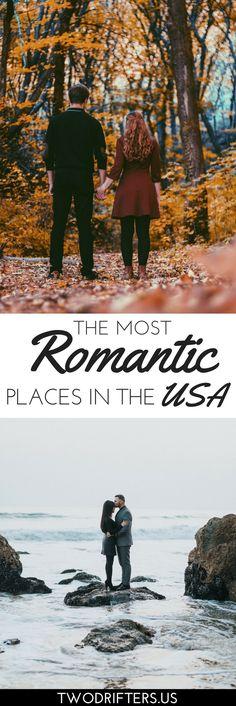 Romantic destinations in the USA