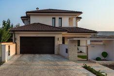 - Modern mediterrán lakóház Detailed Drawings, Building Materials, Software Development, House Plans, House Design, Luxury, Garden, Outdoor Decor, Home Decor