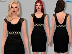 black with gold dresses - Google Search