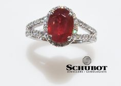 Oval Ruby Ring.