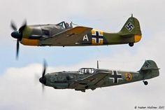 FW190 & BF109