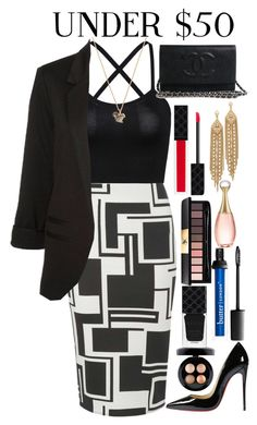 """""""An outfit worth less than $200"""" by houseofdior ❤ liked on Polyvore featuring Dorothy Perkins, Christian Louboutin, MAC Cosmetics, Gucci, Yves Saint Laurent, Christian Dior and Capwell + Co"""