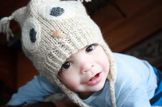 Hoot Toque / Owl Hat pattern on Craftsy.com ❤ Must make this one for my little man.