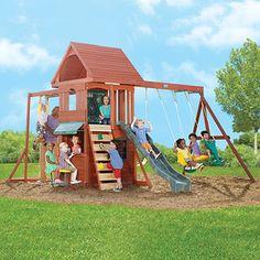 Big Backyard Timber Playhouse - Ridgeview