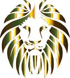 Golden Lion 6 No Background by GDJ