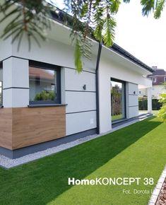 Modern House Colors, Modern House Plans, Facade House, Architect Design, Home Fashion, Design Case, New Homes, House Design, Patio