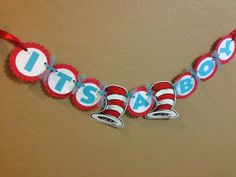 Dr Seuss Cat In The Hat Baby Shower Party by AZCustomCreations, $14.50
