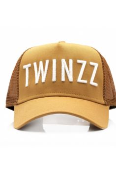 Twinzz - Trucker Snapback - Tobacco/White | Have you seen the latest snapbacks from Twinzz now available @ Urban Celebrity!? The only question is - which to choose? It's a toughie...