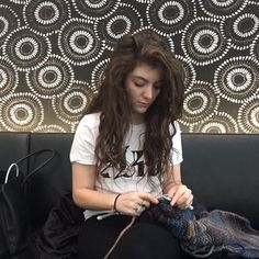 Lorde One of the latest celebs to become part of knitting royalty, we love the singer's choice of colours.30 Celebs Who You Never Knew Knitted