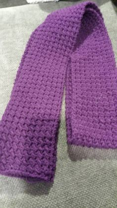 Womens Purple Scarf by TrishsCrochetCloset on Etsy