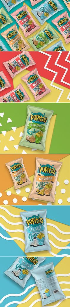 Popitas Takes Inspiration From Childhood Comics and Pop Art — The Dieline | Packaging & Branding Design & Innovation News