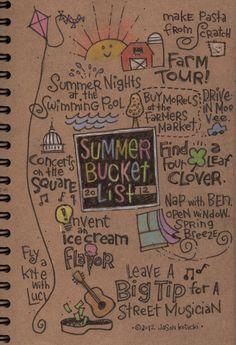 Bucket List, Summer Edition
