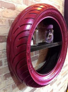 50 Cheap Man Cave Ideas For Men - Low Budget Interior Design Tattoo - manner interior ideas hollow budget design budget - Diy Interior, Interior Design, Interior Painting, Tire Craft, Reuse Old Tires, Reuse Recycle, Nachhaltiges Design, Design Ideas, Design Cars